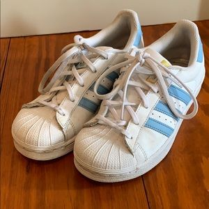 Adidas Kids Superstar Sneakers size 3